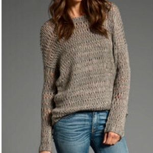 Vince Open Weave Sweater Size S